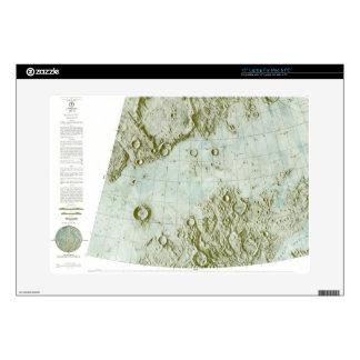 1:000 000 scale lunar chart laptop skin