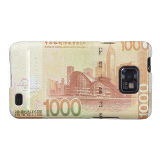 1,000 Hong Kong Dollar Bill Samsung Galaxy S Case Samsung Galaxy S2 Covers