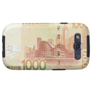 1,000 Hong Kong Dollar Bill Samsung Galaxy S Case Galaxy S3 Cases