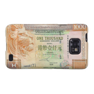 1,000 Hong Kong Dollar Bill Samsung Galaxy S Case Samsung Galaxy S2 Cases