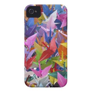 1,000 Origami Paper Cranes iPhone 4 Case-Mate Case