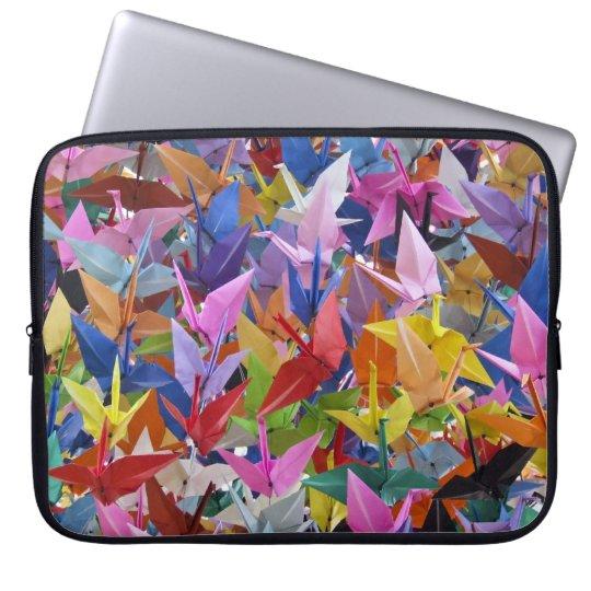 1,000 Origami Paper Cranes Neoprene Laptop Sleeve