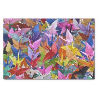 """1,000 Origami Paper Cranes Photo 10"""" X 15"""" Tissue Paper"""