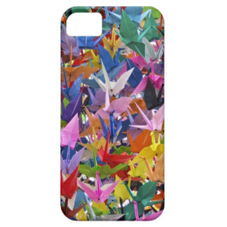 1,000 Origami Paper Cranes Photo iPhone SE/5/5s Case
