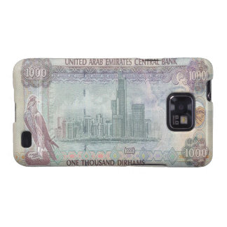 1,000 UAE Dirham Banknote Samsung Galaxy S Case Galaxy SII Case