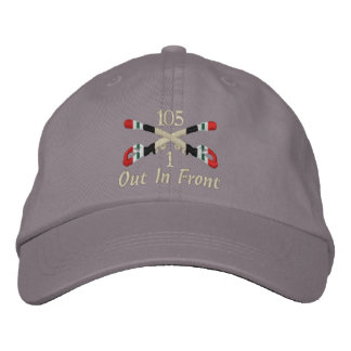 1-105th Cavalry Iraq Crossed Sabers Hat