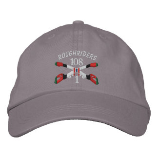 1-108th Cavalry Afghanistan Crossed Sabers Hat Embroidered Hats