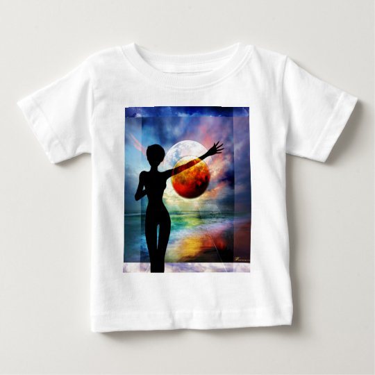 1-10 HALF FULL.jpg Baby T-Shirt
