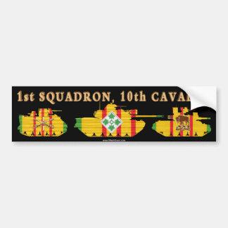 1/10th Cavalry VSR Armored Vehicles Car Bumper Sticker