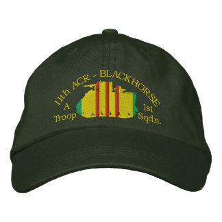 1/11o gorra de la caballería M113 ACAV (de su Gorro Bordado