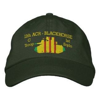 1/11th M551 Sheridan Embroidered Embroidered Baseball Cap
