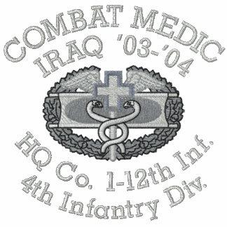 1-12th Infantry Iraq Combat Medic Shirt Polo