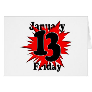 1-13 Friday the 13th Card