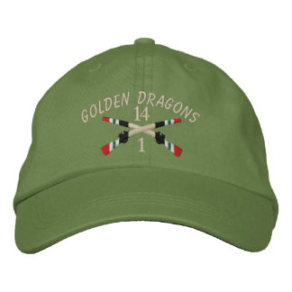 1-14th Infantry Iraq Crossed Rifles Cap