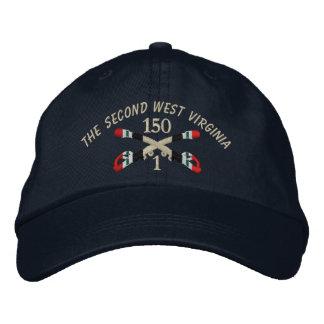 1-150th Cavalry Iraq Crossed Sabers Hat