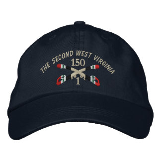 1-150th Cavalry Iraq Crossed Sabers Hat