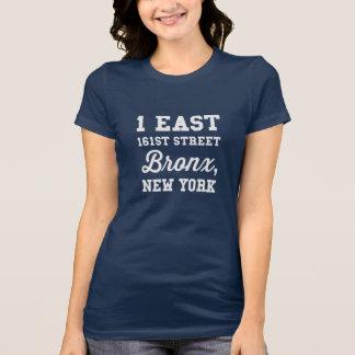 1 161a calle del este Bronx camiseta de NY