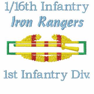 1/16o Camisa bordada CIB de la infantería VSM