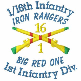 1/16th Infantry 1st ID VSM Crossed Rifles Shirt