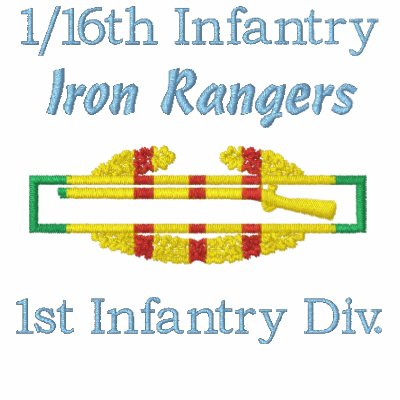 1/16th Infantry VSM CIB Embroidered Shirt
