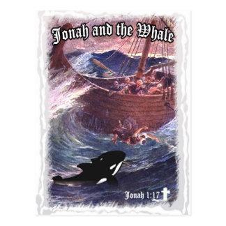 1:17 de Jonah - Jonah y la ballena Postales