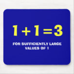 1+1=3 MOUSE PADS