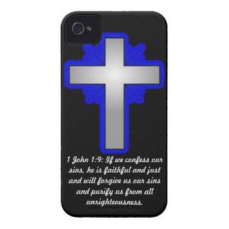 1 1:9 de Juan con los casos cruzados del iPhone Carcasa Para iPhone 4 De Case-Mate