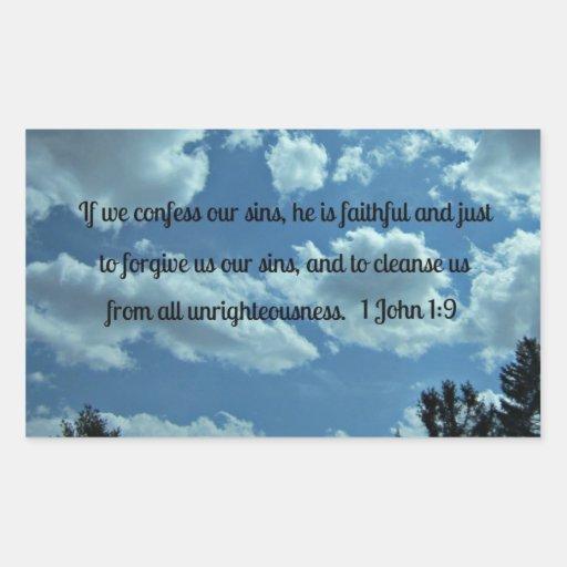 1 1:9 de Juan Pegatina Rectangular