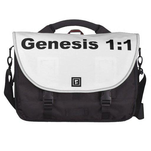 1:1 de la génesis bolsas de portatil