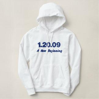 1.20.09 A New Beginning Embroidered Sweatshirt