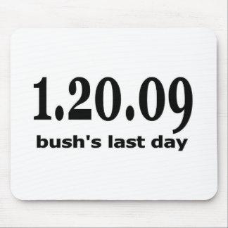 1 20 09 bushs last day mouse pad