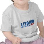 1/20/09 del final de un error camisetas