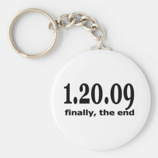 1 20 09 finally the end basic round button keychain