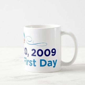 1-20-09: Primera taza del día de Obama
