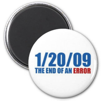 1/20/09  The End of An Error Magnet