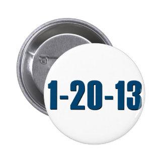 1-20-13 botón anti de Obama Pins