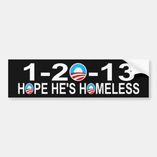 1-20-13 Obama anti Etiqueta De Parachoque