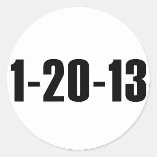 1-20-13 pegatina anti de Obama