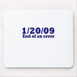 1/20/2009 final de un error tapete de ratones