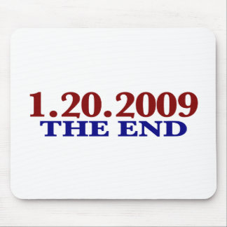 1-20-2009 The End Mouse Pad