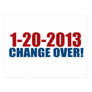 1-20-2013 cambio encima tarjetas postales