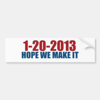 1-20-2013 esperanza la hacemos pegatina para auto