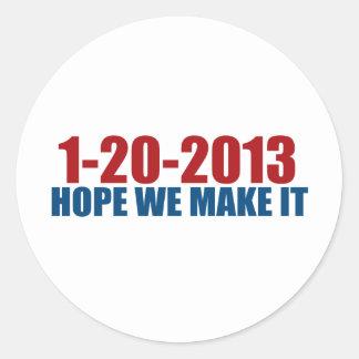 1-20-2013 esperanza la hacemos pegatinas redondas