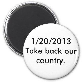 1/20/2013 retire nuestro país imán redondo 5 cm