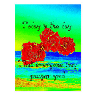 $1.20 Today are the day! Greeting cards Postcard