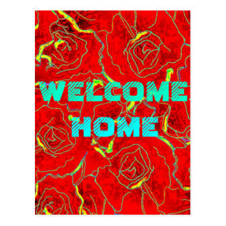 $1.20 Welcome home. greeting cards Postcard