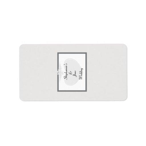 """1,25 amores miniatura del verano de """" x2.75"""" etiqueta de dirección"""