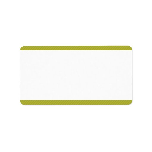 """1,25 verdes de la dirección del correo """" x2.75"""" y etiquetas de dirección"""