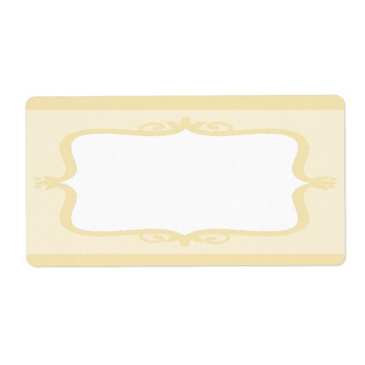"""1.25""""x2.75"""" Mailing Address Floral Bird Cage Personalized Shipping Labels"""