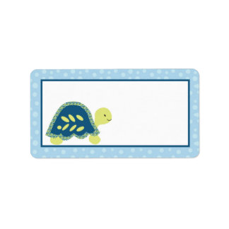 "1.25""x2.75"" Mailing Address Sea Turtle Reef Ocean Address Label"